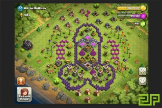 clash of clan funny bases 宗族搞笑基地交锋 firewall internet